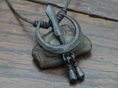 Iron Chand Tora Pendant
