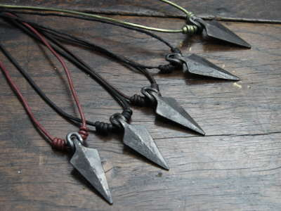 Arrow head pendants